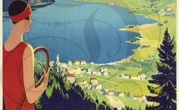 Plaque émaillée vantant la Vallée de Joux