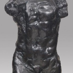 large torso of the walking man - Auguste Rodin