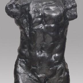 large torso of the walking man - Auguste Rodin